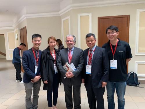 赴莫斯科出席歐洲心理學大會